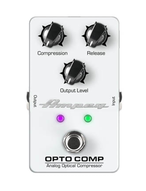 Ampeg Opto Comp Analog Optical Compressor pedal