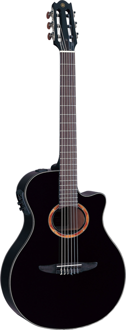 Yamaha NTX700 NTX Nylon String Acoustic-Electric Black with case