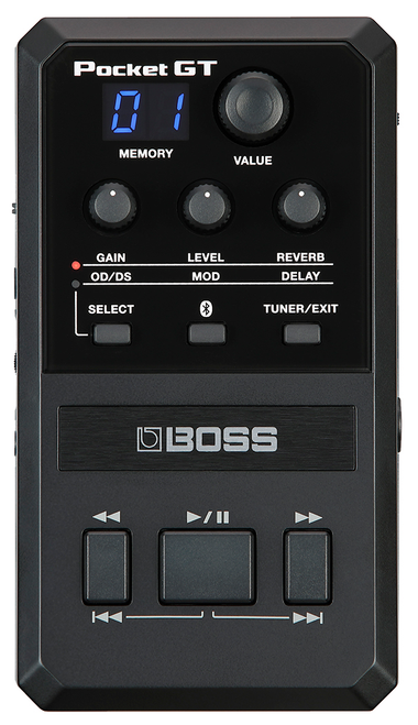 Boss Pocket GT guitar effects processor