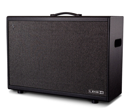 Line 6 Powercab 212 Plus Active Stereo Guitar Speaker System with cover open box