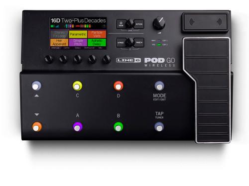 Line 6 POD Go Wireless Guitar Multi-effects Floor Processor