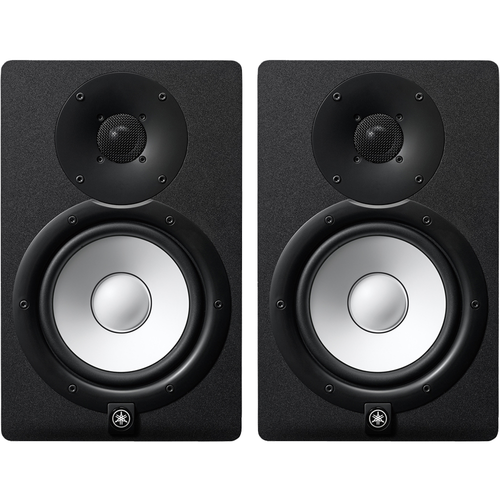 "Yamaha HS7 6.5"" Powered Studio Monitors pair Black"