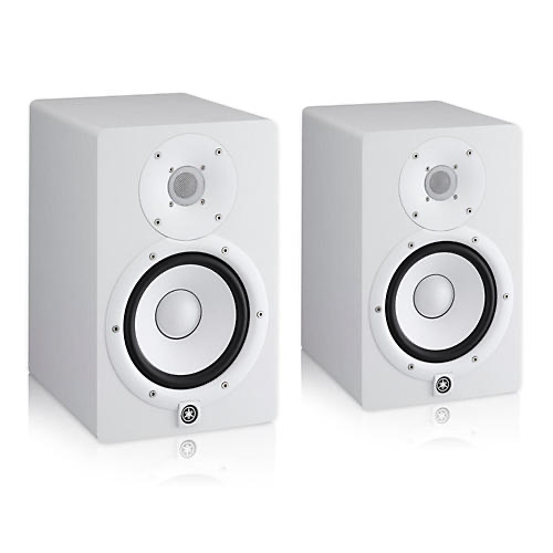 Yamaha HS7 Powered Studio Monitor White Pair
