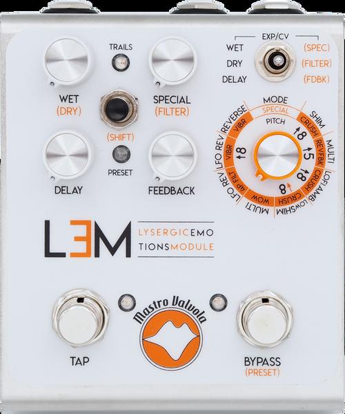 Mastro Valvola Multi-delay guitar pedal LEM lysergic emotions module Anniversary Edition