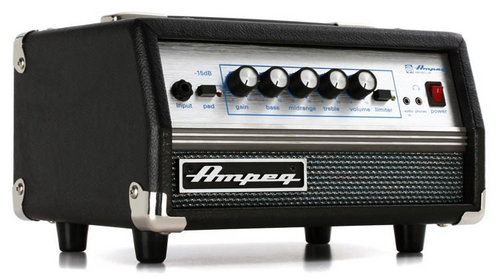 Ampeg SVT Micro VR 200-watt Classic Bass Amplifier Head