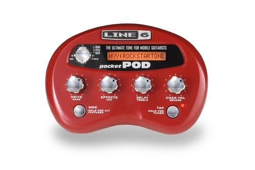 Line 6 Pocket POD Guitar Amp Emulator