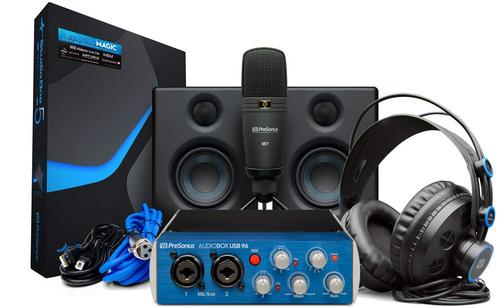 PreSonus AudioBox 96 Ultimate Hardware & Software Recording Bundle