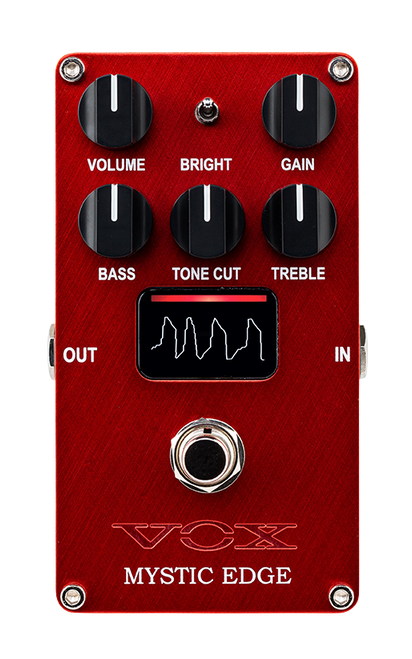 Vox Mystic Edge AC30-style Overdrive Pedal with NuTube VEME