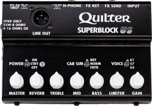 Quilter SuperBlock US Pedalboard Amplifier 25 Watts