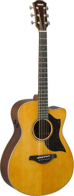 Yamaha AC5R ARE Concert Cutaway Vintage Natural acoustic electric guitar