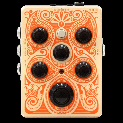 Orange Acoustic guitar Pedal