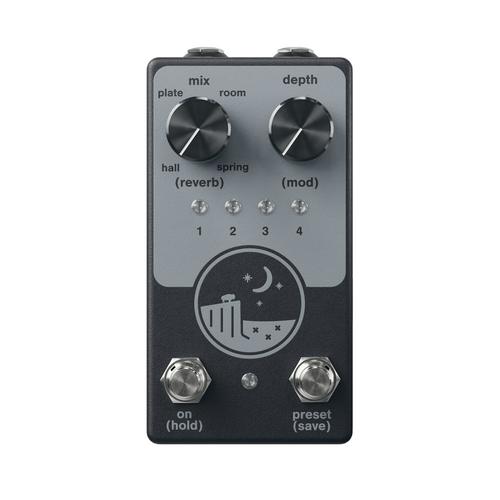 NativeAudio Ghost Ridge V1.5 Multi-Reverb Guitar Pedal