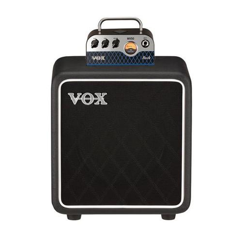 "Vox MV50 CR Nutube Rock Guitar Amplifier 50 Watt Head and BC108"" speaker cab"