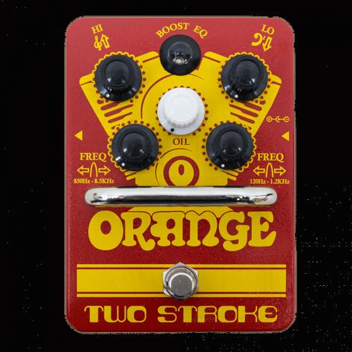 Orange Two Stroke Boost EQ guitar Pedal