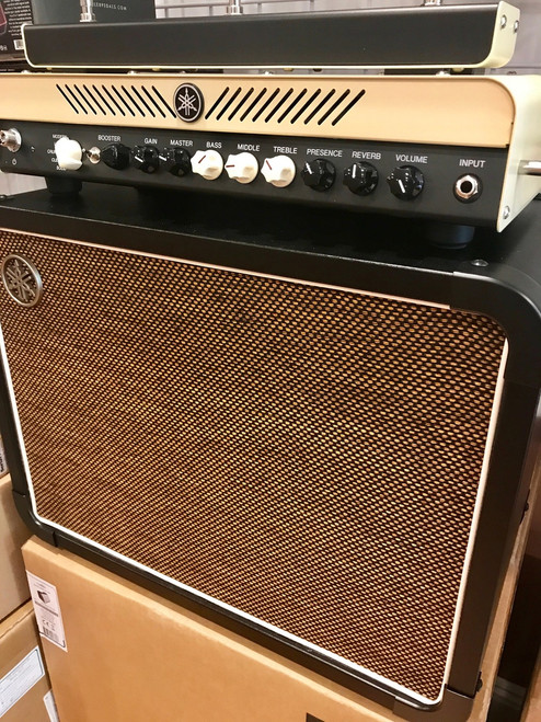 Yamaha THR100H amplifier and THRC112 1x12 Cabinet OB