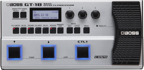 Boss GT-1B Bass Effects Processor Pedal