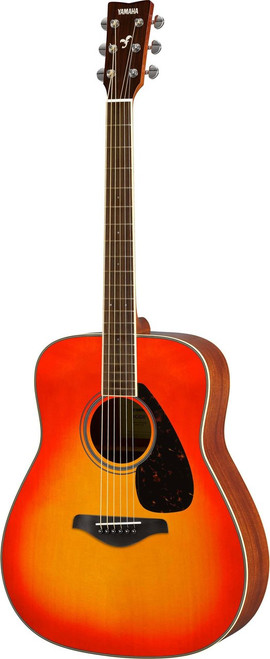 Yamaha FG820 AB Dreadnought Acoustic Guitar  Autumn Burst