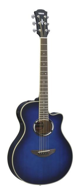 Yamaha APX500III OBB Oriental Blue Burst Acoustic Electric Guitar