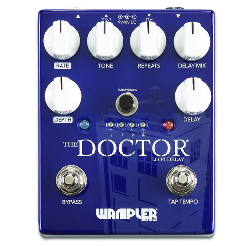 Wampler The Doctor LoFi Ambient Delay effects pedal