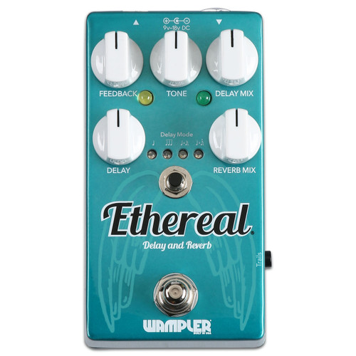 Wampler Ethereal Reverb and Delay effects guitar pedal