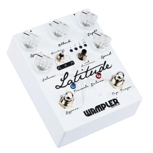 Wampler Latitude Deluxe Tremolo guitar effects pedal