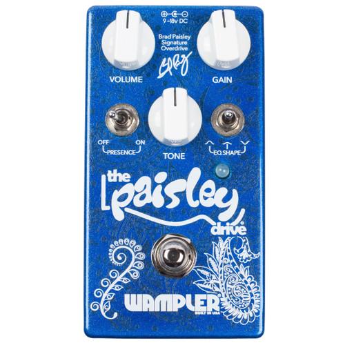 Wampler Brad Paisley Drive guitar effects pedal