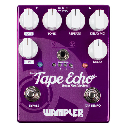 Wampler Faux Tape Echo v2 guitar effects pedal