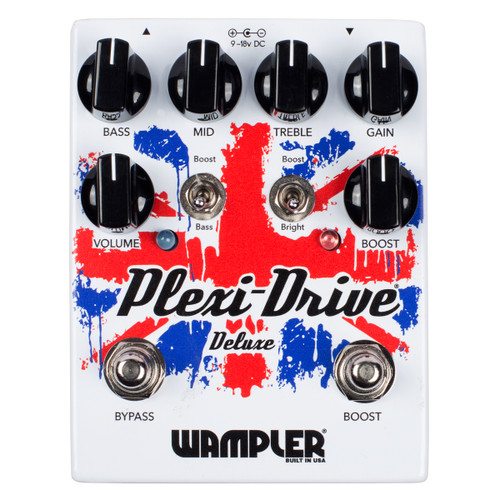 Wampler Plexi Drive Deluxe guitar effects pedal