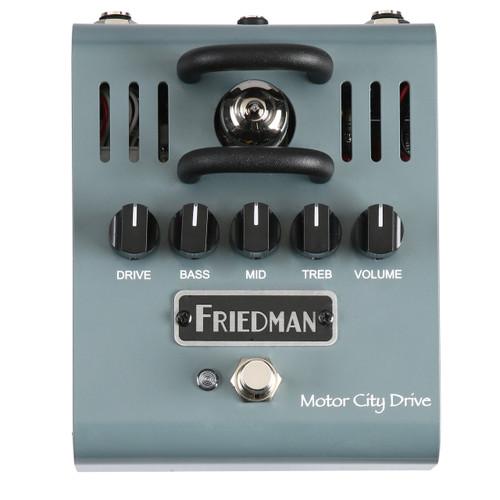 Friedman Motor City Drive 12AX7 Tube Powered Overdrive guitar Pedal