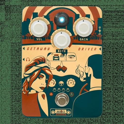 Orange Getaway Driver Amp simulator guitar effects pedal