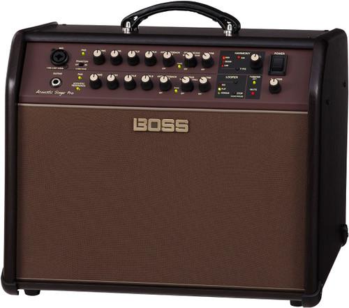 Boss Acoustic Singer Pro 120-watt Bi-amp Acoustic Combo amplifier with FX