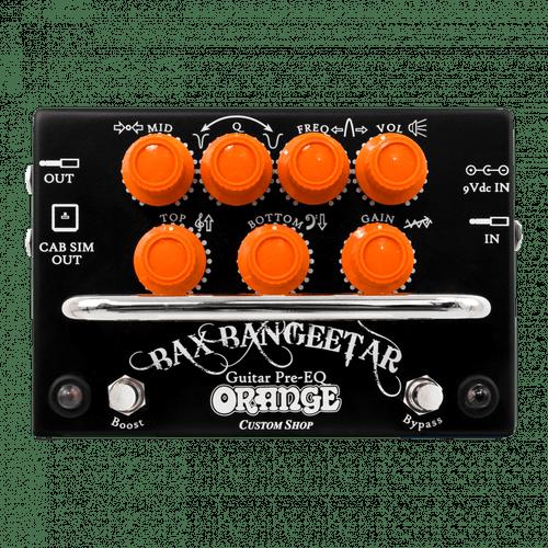 Orange Bax Bangeetar Guitar Pre-EQ Pedal Black