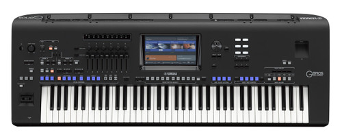 Yamaha Genos 76-key flagship arranger workstation keyboard