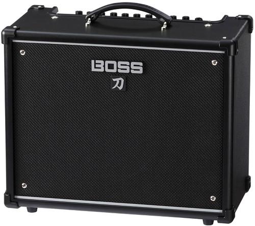 "Boss Katana 50 - 50/25/0.5-watt 1x12"" COSM Combo Amp"