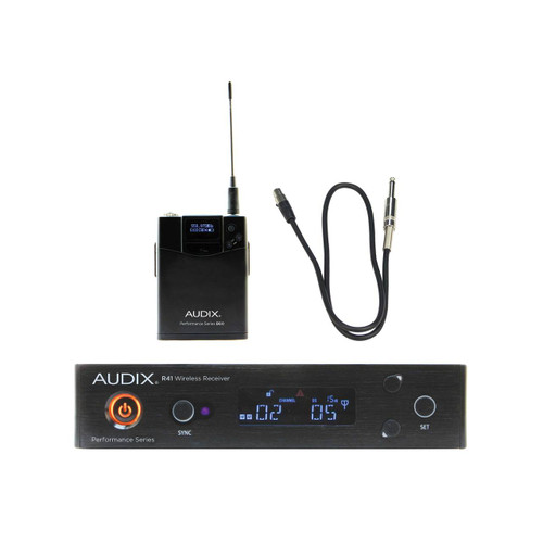 Audix AP41 Guitar Bass  Wireless system 522 MHz - 554 MHz