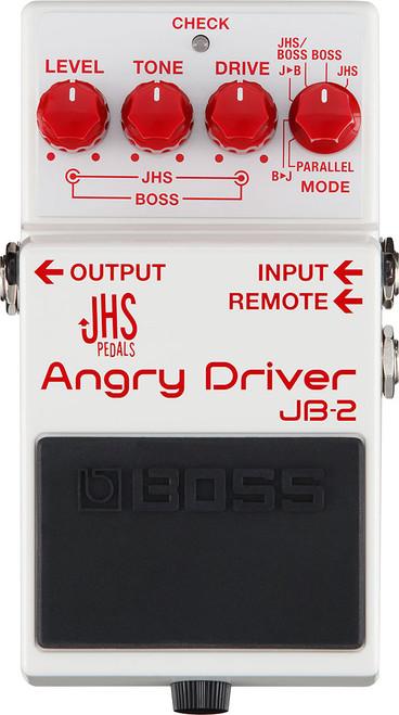 Boss Angry Drive JBS-2 JHS guitar drive pedal