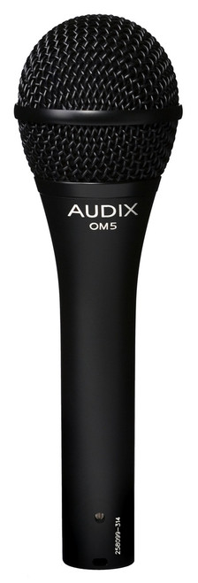 Audix OM5 Dynamic HyperCardioid Vocal microphone