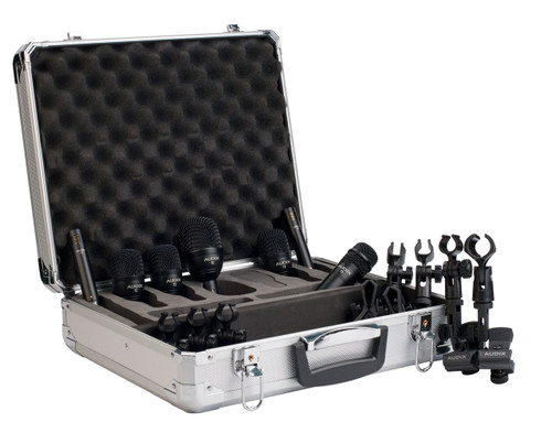 Audix FP7 7 piece Fusion Drum Microphone Package