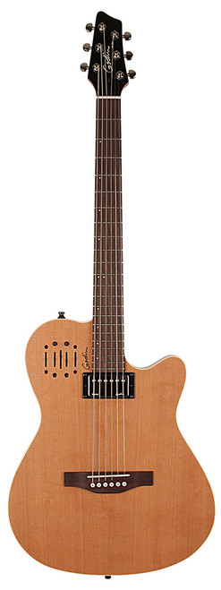 Godin A6 Ultra Natural SG Electric Acoustic guitar with gig bag 030293