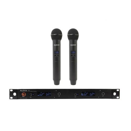 AP42 OM2 Wireless microphone System 2 channel dual OM2