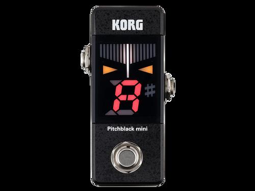 Korg Pitchblack mini pedal guitar tuner