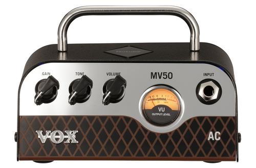 Vox MV50 AC 50 Watt Mini guitar amplifier Head NuTube Technology