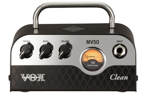 Vox MV50 CL 50 Watt Mini guitar amplifier Head NuTube Technology