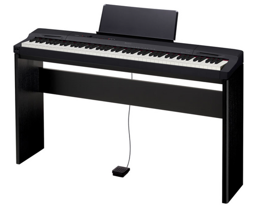 Casio PX-160csu 88 note hammer action digital piano with CS-67 BK stand
