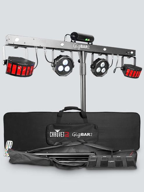 Chauvet GigBar2 ultimate pack-n-go 4-in-1 lighting system