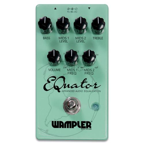Wampler EQuator Advanced Audio Equalizer effects pedal
