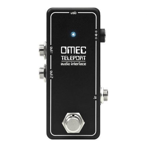 Orange OMEC Teleport Digital Audio Interface pedal