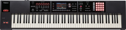 Roland FA-08 88 key piano action weighted synthesizer workstation