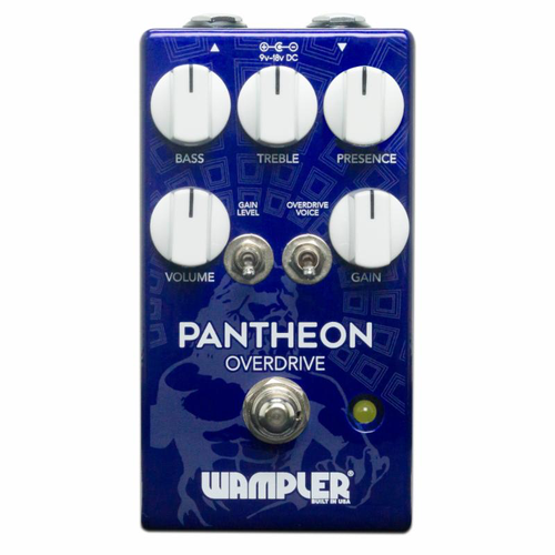 Wampler Pantheon Overdrive Guitar Pedal