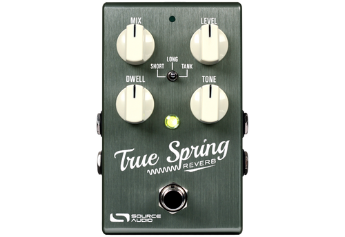 Source Audio True Spring Reverb Guitar Effects Pedal + ext switch